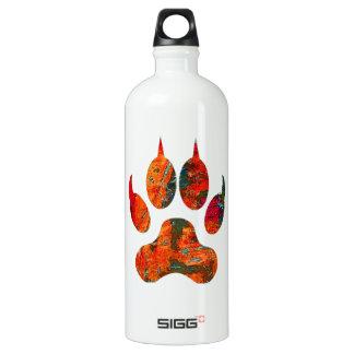 Wolf Track Water Bottle