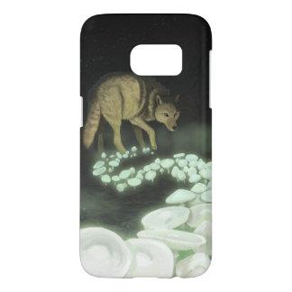 Wolf Trailing Death Mushrooms Samsung Galaxy S7 Case