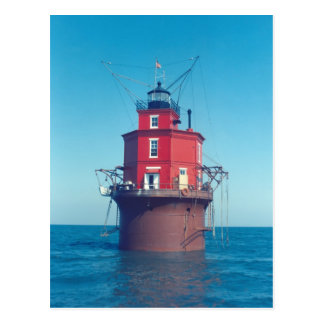 Wolf Trap Lighthouse Postcard