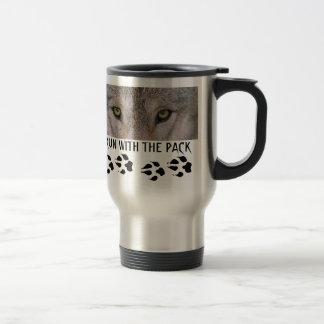 WOLF TRAVEL COFFEE MUG