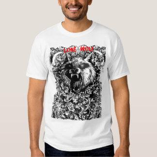 wolf tshirt .