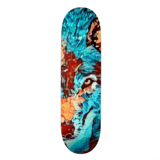 Wolf Van Gogh Element Zero Custom Pro Board Skate Decks