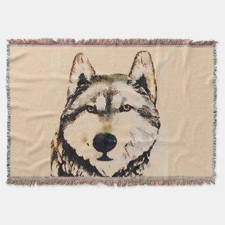 Wolf Watch Throw