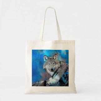 Wolf Watercolor  Art Tote Bag