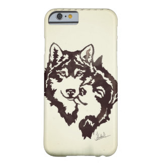 wolf watercolor barely there iPhone 6 case