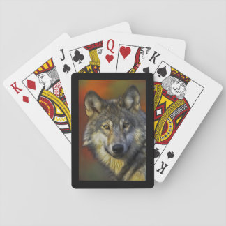 Wolf Wisdom Playing Cards