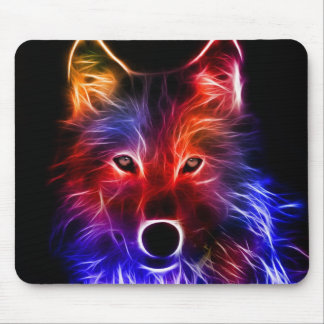 Wolf Wonder Mouse Pad