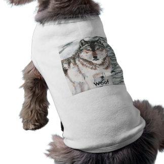 Wolf, Woof Doggie Tshirt