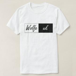 Wolfe Uk rectangle grapgic T-Shirt