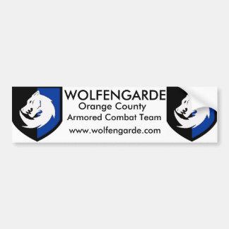 Wolfengarde Bumper Sticker