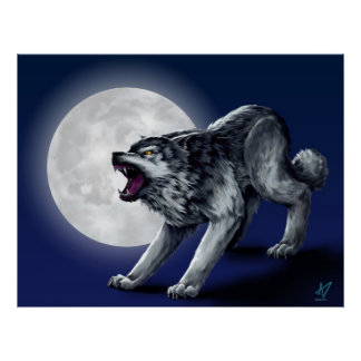 Wolfe's Wolf Poster