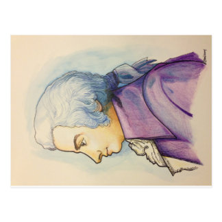 Wolfgang A. Mozart postcard