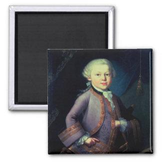 Wolfgang Amadeus Mozart , 1763 Magnet