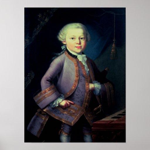 Wolfgang Amadeus Mozart , 1763 Posters
