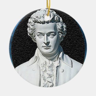 Wolfgang Amadeus Mozart Christmas Ornament