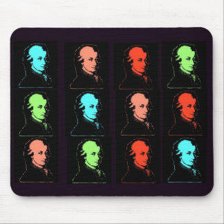 Wolfgang Amadeus Mozart Collage Mouse Pad
