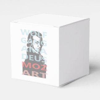 Wolfgang Amadeus Mozart Favor Box
