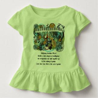 Wolfgang Amadeus Mozart Inspirational Quotes T-shirts