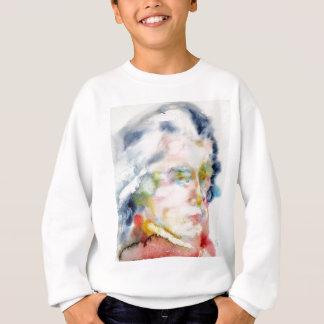 wolfgang amadeus mozart portrait sweatshirt