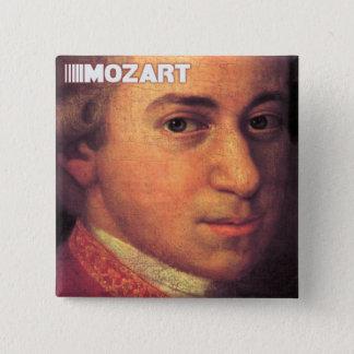 Wolfgang Amadeus Mozart Stuff 2 Inch Square Button