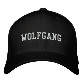 Wolfgang Embroidered Hat