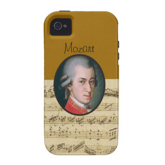 Wolfgang Mozart Electonics Cases and Skins iPhone 4 Cover