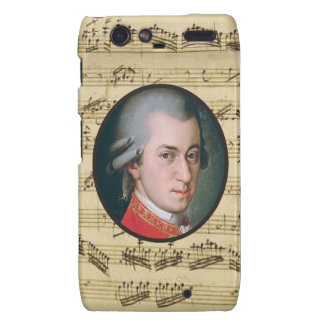 Wolfgang Mozart Electonics Cases and Skins Droid RAZR Case