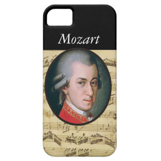 Wolfgang Mozart Electonics Cases and Skins iPhone 5 Covers