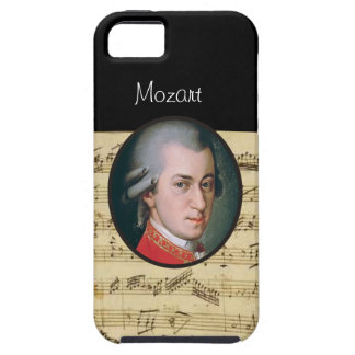 Wolfgang Mozart Electonics Cases and Skins iPhone 5 Cases