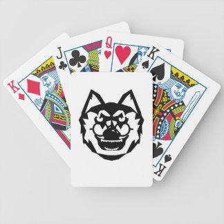 Wolfglass kleding poker deck