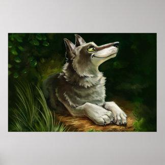 Wolfie Rest Posters