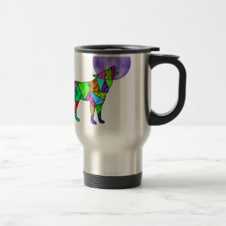 wolfie travel mug