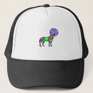wolfie trucker hat