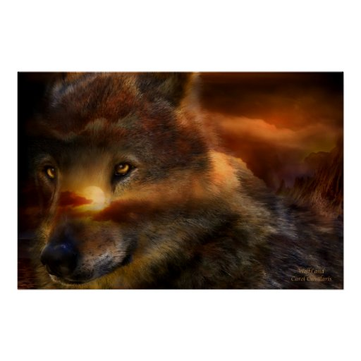 WolfLand Art Poster/Print Poster