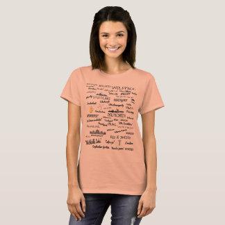 Wolfpack Cities Wanderlust Womens T-Shirt