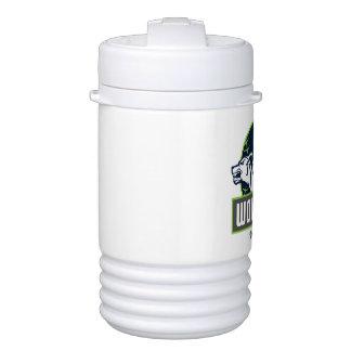 WolfPack Igloo Beverage Cooler, One Quart Cooler