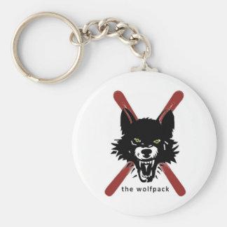 Wolfpack Key Chain