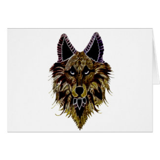 Wolf's Head Card