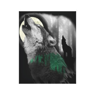 Wolf's Song Canvas Print