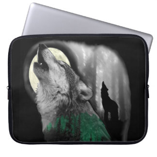 Wolf's Song Laptop Sleeves