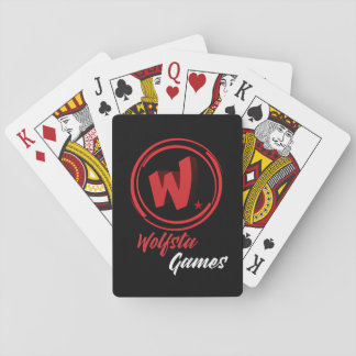 Wolfsta Games NEW 3D LOGO Classic Playing cards