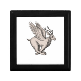 Wolpertinger Running Side Tattoo Gift Box
