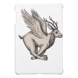 Wolpertinger Running Side Tattoo iPad Mini Cover