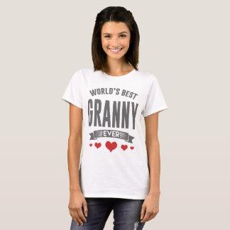 WOLRD'S BEST GRANNY EVER T-Shirt