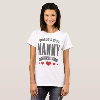 WOLRD'S BEST NANNY EVER T-Shirt