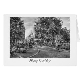 Wolvenstraat Singel Bridge - Happy Birthday Card