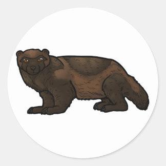 Wolverine Classic Round Sticker