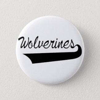 Wolverines 2 Inch Round Button