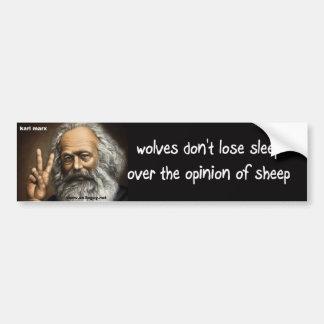 wolves bumper sticker