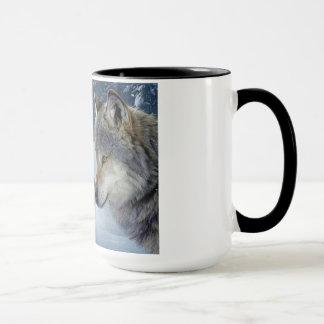 wolves in love mug. mug